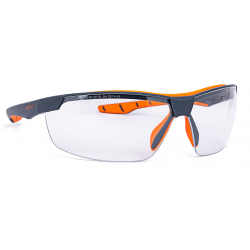 Schutzbrille Flexor plus grau-orange PC HC UV